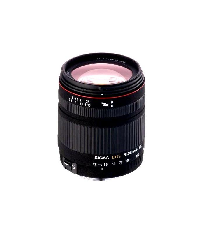 Sigma 28-300mm f/3.5-6.3 DG Macro - Nikon Mount