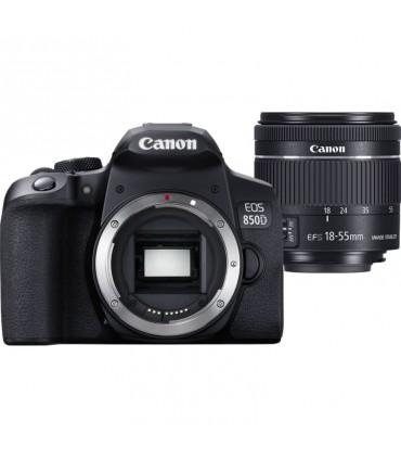 دوربین دیجیتال کانن مدل 850D همراه با لنز EF-S 18-55mm IS STM