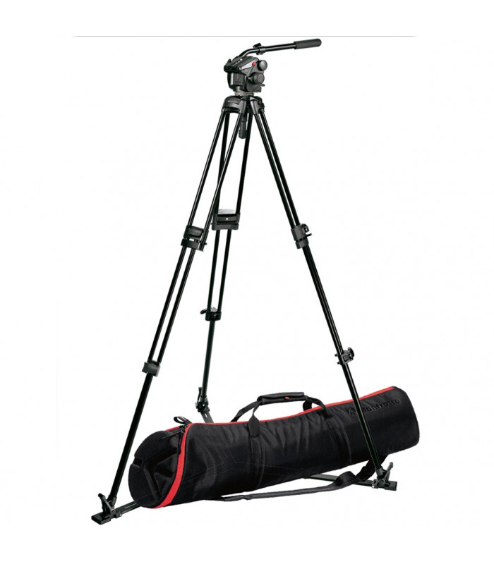 Manfrotto 503HDV HEAD+525MVB TRIPOD+520BALL+MB MBAG90PN