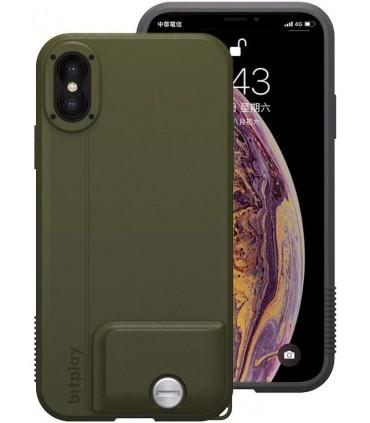 قاب گوشی بیت پلی مخصوص آیفون Xs Max مدل Bitplay Snap! رنگ سبز