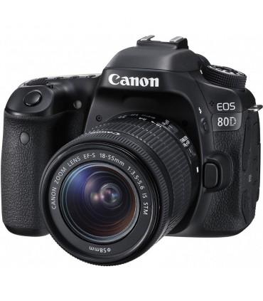 Canon EOS 80D + 18-55 STM