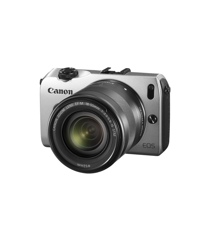 Canon EOS-M + EF-M 18-55mm f/3.5-5.6 IS STM Lens