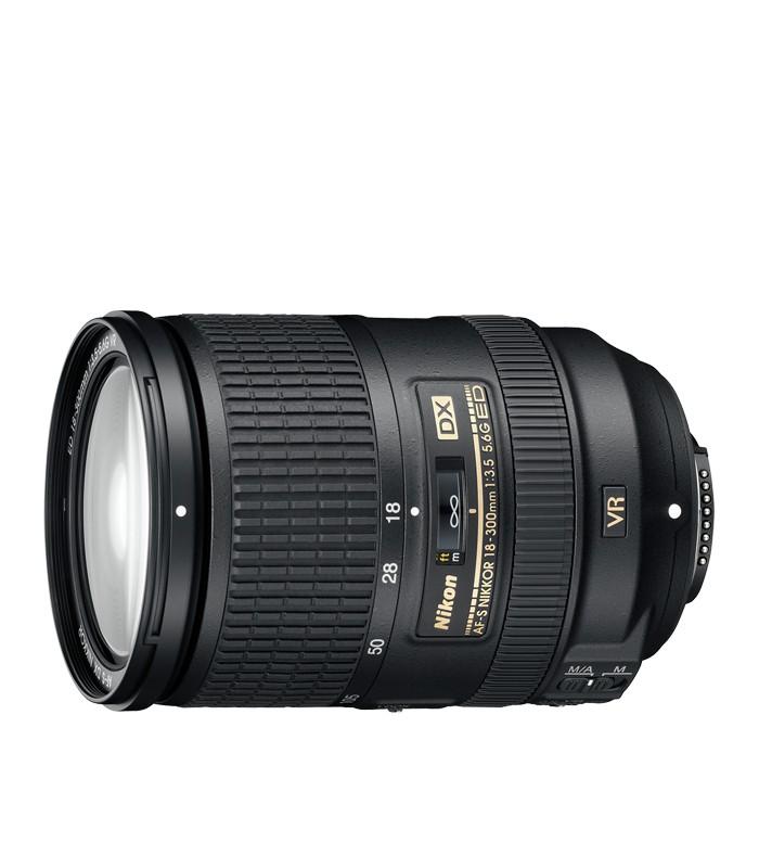 لنز دوربین نیکون Nikon Lens AF-S 18-300mm f/3.5-6.3G ED VR |