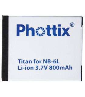Phottix Li-on Rechargeable Battery NB-6L