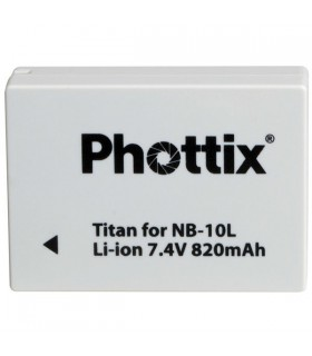Phottix Li-on Rechargeable Battery NB-10L