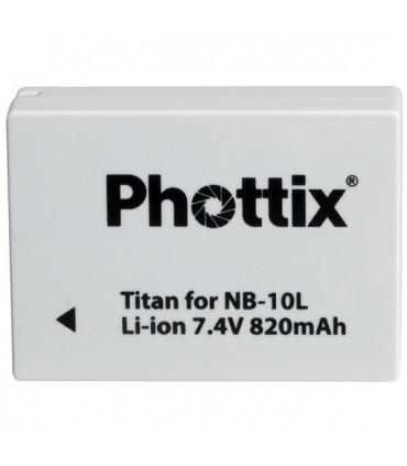 Phottix باتری لیتیوم قابل شارژ800mah برای دوربین sx40مدلNB-10L