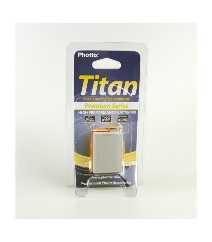 Phottix Li-on Rechargeable Battery LP-E8