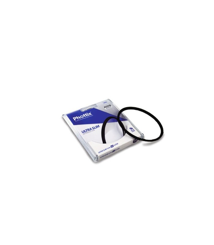 Phottix ULTRA SLIM 1mm UV Protector 52mm