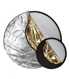 Phottix 5 in 1 Light Multi Collapsible Reflector 80cm