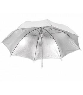 White-Silver Umbrella