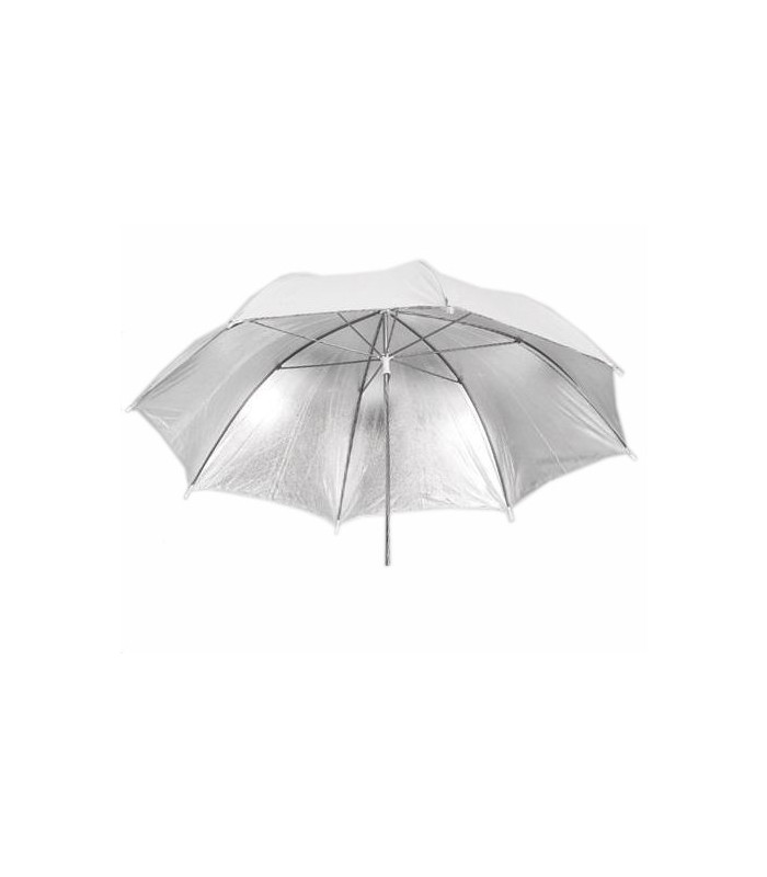 White-Silver Umbrella