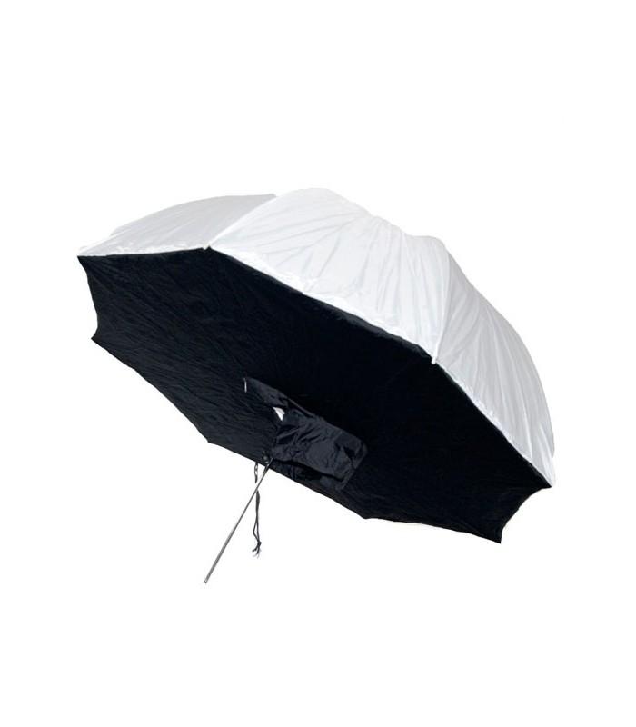 Umbrella-Soft Box Dual Layer white-black