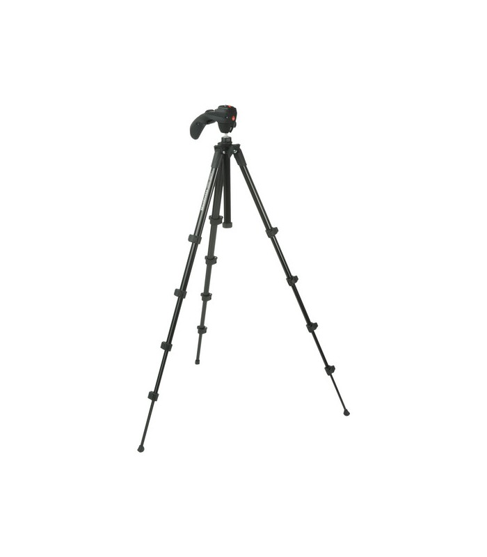 Manfrotto MKC3-H01 Compact Series tripod with built-in photo-movie head