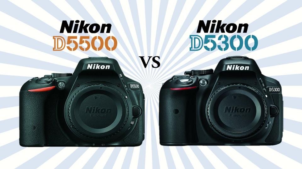 D5500 vs D5300 Header