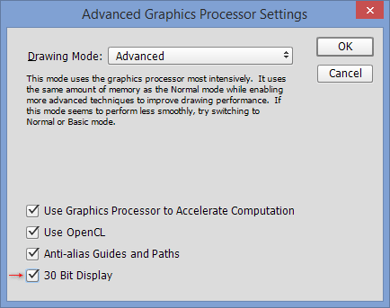 Photoshop-30-Bit-Display