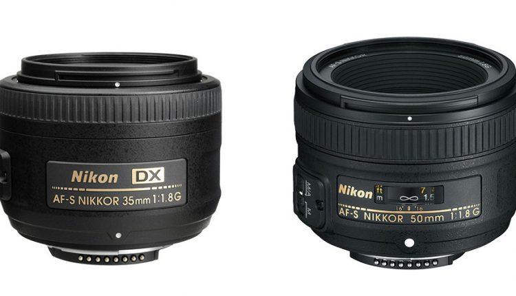 مقایسه Nikkor DX 35mm f/1.8G و Nikkor 50mm f/1.8G