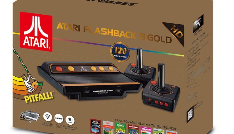زمان عرضه و قیمت احتمالی آتاری  Flashback 8 Gold اعلام شد
