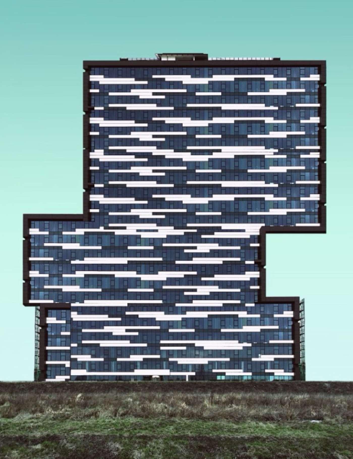 """عکسی از پاتریک کولتا که موفق به کسب جایزه دوم بخش """"معماری"""" شد"""