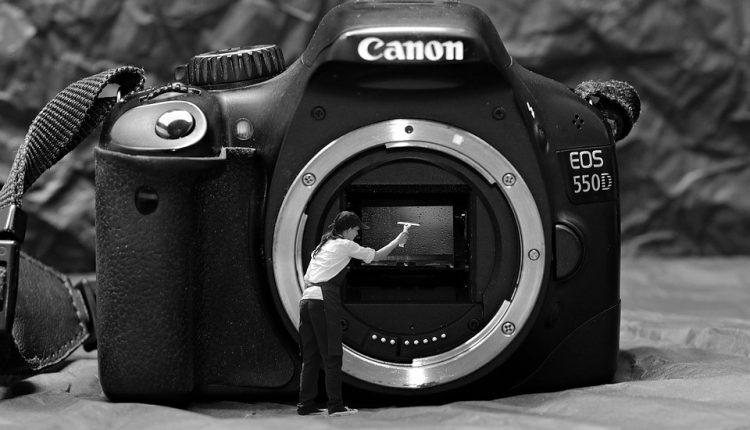 تمیزکردن سنسور و لنز دوربین به سبک پیکسل!