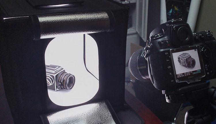 خیمه نور: راز ثبت عکس کالاهای کوچک با بالاترین کیفیت