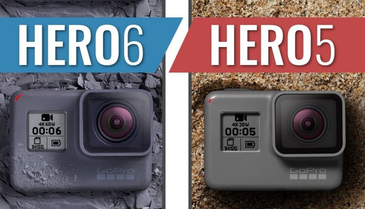 مقایسه گوپرو Hero6 و Hero5 بلک