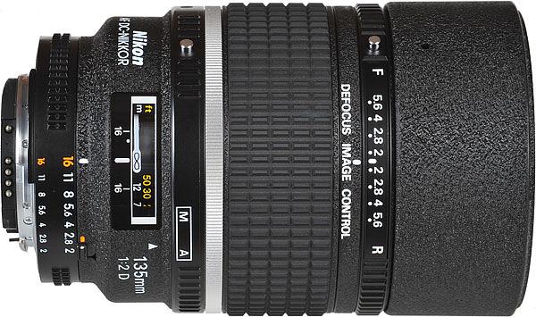 Nikon 135mm f/2 DC لنزهای نیکون