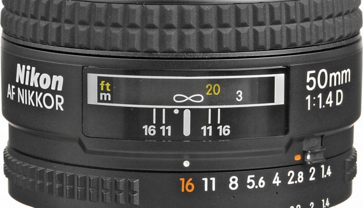Nikon-AF-NIKKOR-50mm-F1.4D-Autofocus-Lens لنزهای نیکون