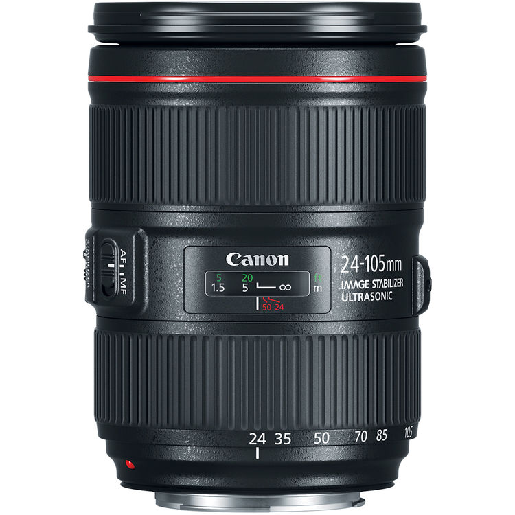 لنز EF 24-105mm f4L IS USM کانن