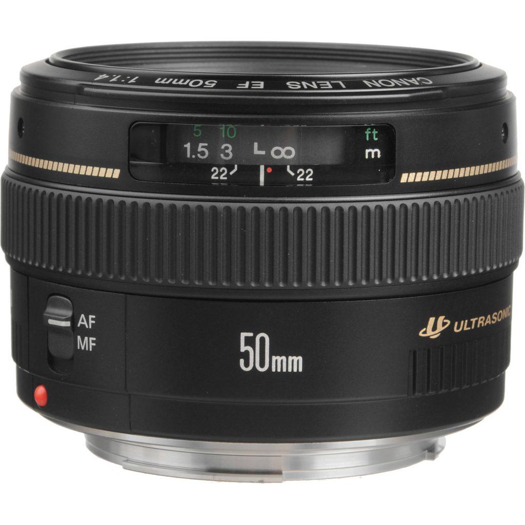 لنز EOS 50mm F1.4 USM کانن