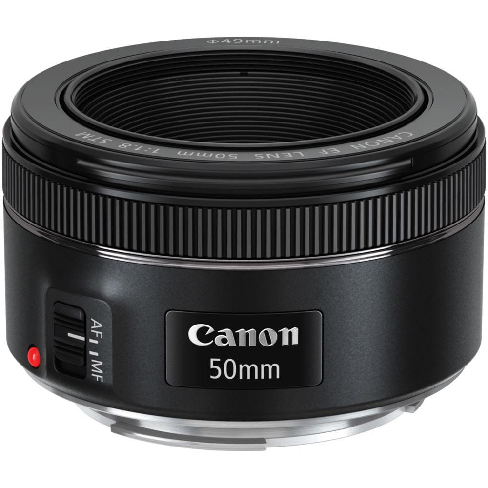 لنز 50mm f/1.8 STM