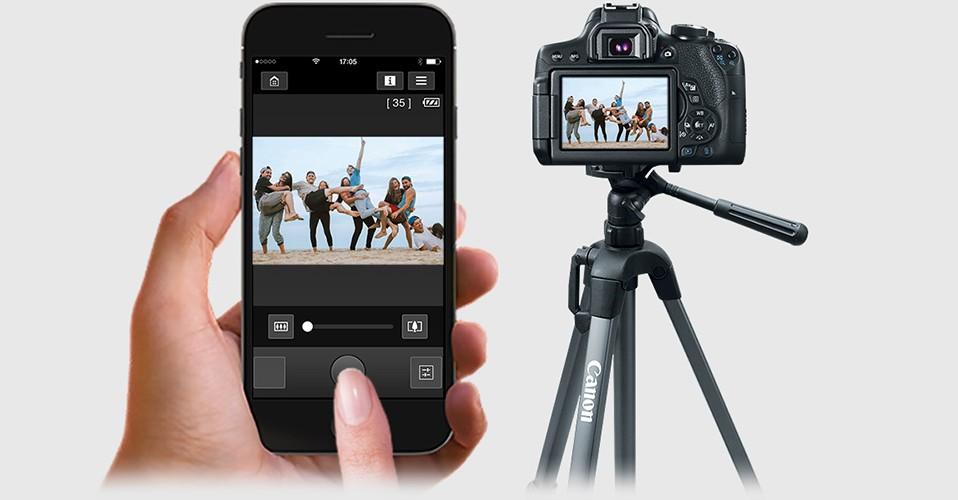 آشنایی و آموزش استفاده از Canon Camera Connect