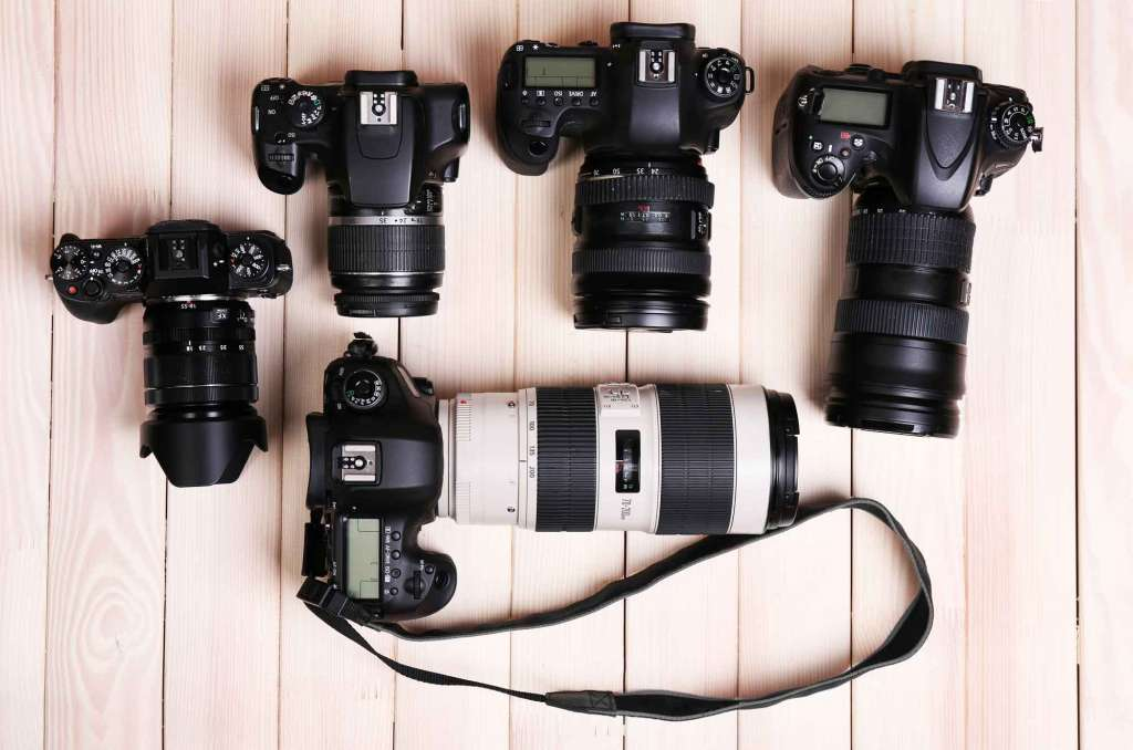 انواع دوربین دست دوم