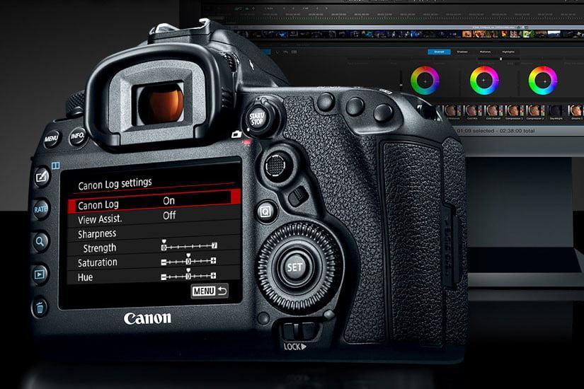 قابلیت های فیلم برداری eos 5d iv